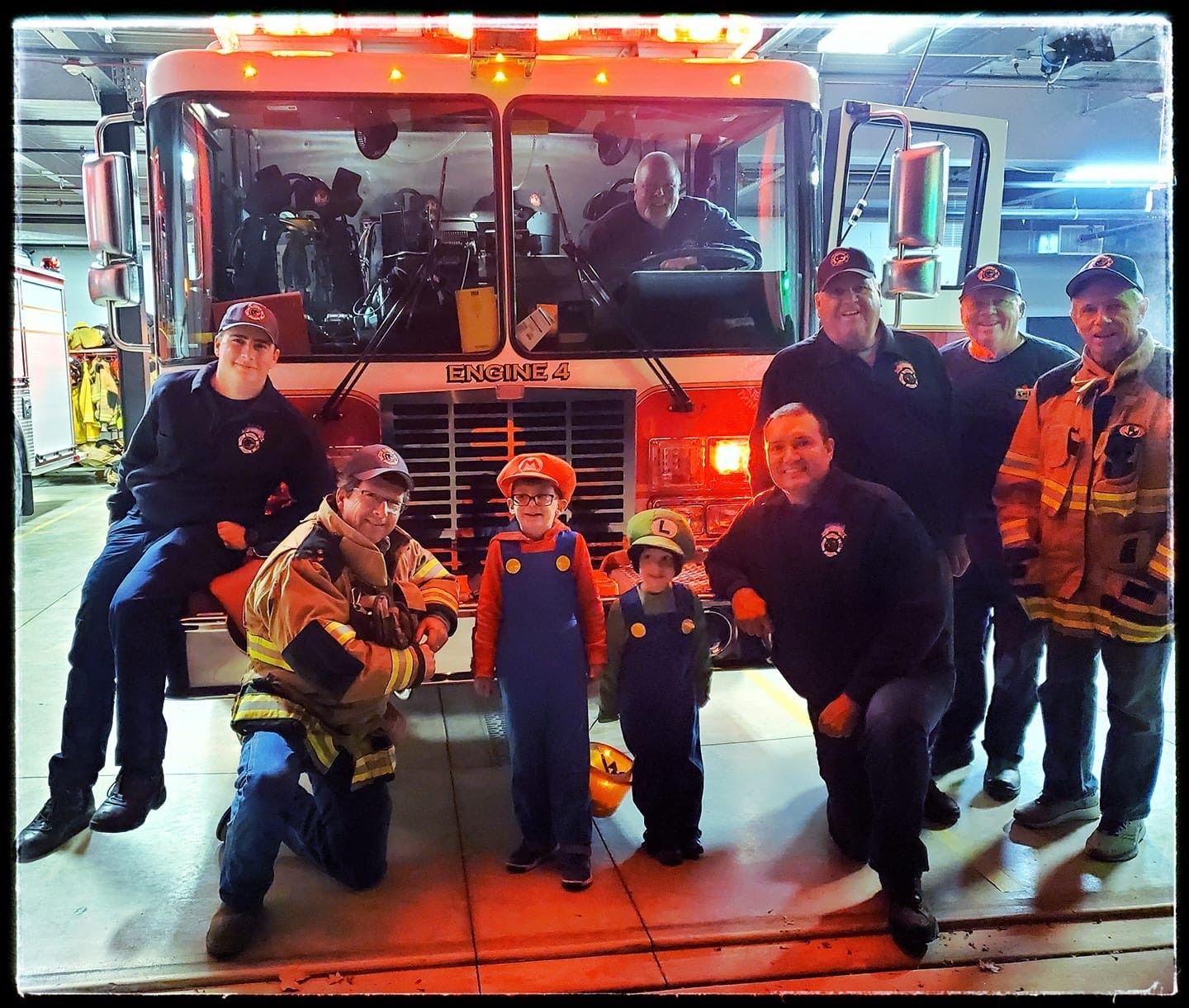 Trick or Treat at the Firehouse