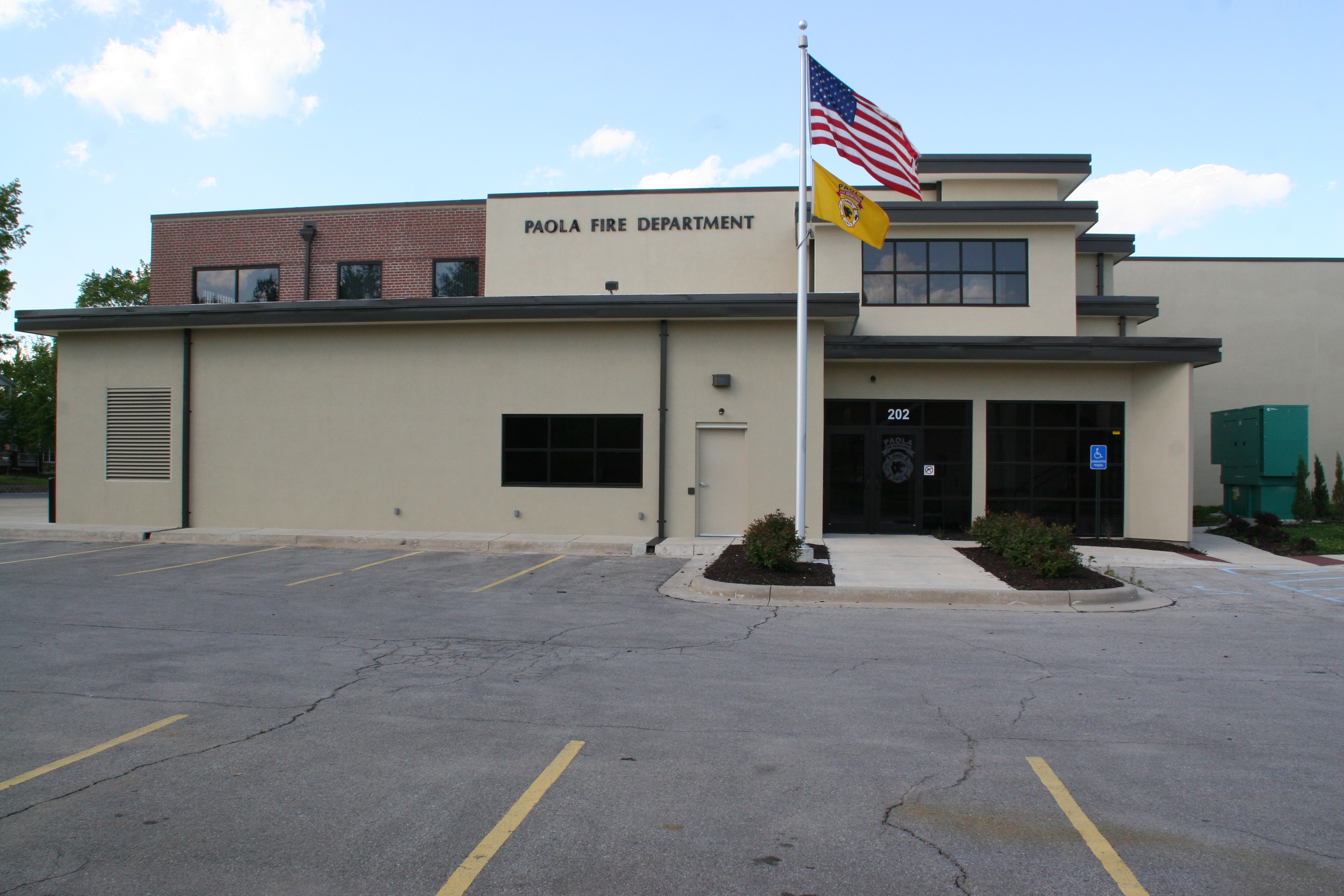 Fire Station Entrance